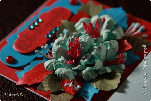 Милые, добрые, очаровательные, женственные и талантливые !!!! Этот букет тюльпанов я дарю всем Вам, жительницы Страны !!!! С праздником !!!  Тюльпаны выполнены из фоамирана. фото 18