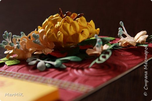 Милые, добрые, очаровательные, женственные и талантливые !!!! Этот букет тюльпанов я дарю всем Вам, жительницы Страны !!!! С праздником !!!  Тюльпаны выполнены из фоамирана. фото 30