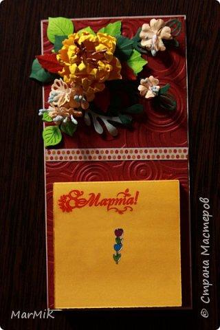 Милые, добрые, очаровательные, женственные и талантливые !!!! Этот букет тюльпанов я дарю всем Вам, жительницы Страны !!!! С праздником !!!  Тюльпаны выполнены из фоамирана. фото 29