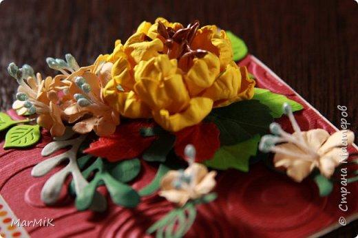 Милые, добрые, очаровательные, женственные и талантливые !!!! Этот букет тюльпанов я дарю всем Вам, жительницы Страны !!!! С праздником !!!  Тюльпаны выполнены из фоамирана. фото 32