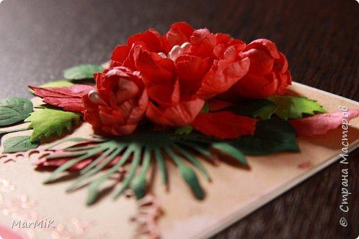 Милые, добрые, очаровательные, женственные и талантливые !!!! Этот букет тюльпанов я дарю всем Вам, жительницы Страны !!!! С праздником !!!  Тюльпаны выполнены из фоамирана. фото 34