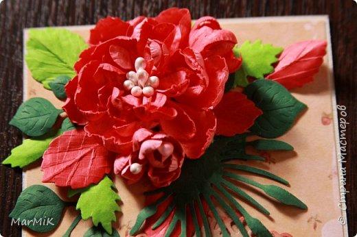 Милые, добрые, очаровательные, женственные и талантливые !!!! Этот букет тюльпанов я дарю всем Вам, жительницы Страны !!!! С праздником !!!  Тюльпаны выполнены из фоамирана. фото 35