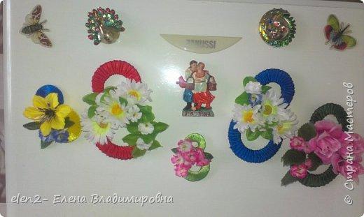 Мои магнитики-подарки  к 8 марта подругам.Сделала немного по-своему. мастер класс увидела в ютубе https://www.youtube.com/watch?v=Tg4zuwjl-MA фото 8