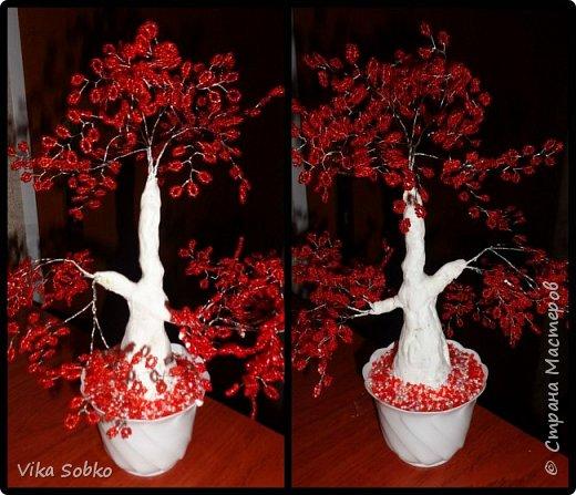 Деревья из бисера фото 3