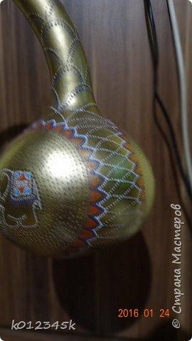 Лампы из бутылочной тыквы. кому интересно больше информации в блоге. фото 15
