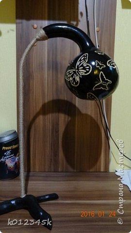 Лампы из бутылочной тыквы. кому интересно больше информации в блоге. фото 18