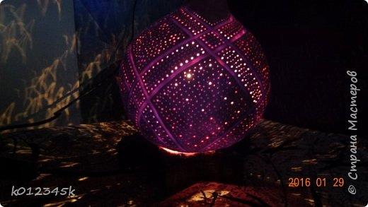 Лампы из бутылочной тыквы. кому интересно больше информации в блоге. фото 25