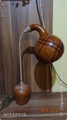 Лампы из бутылочной тыквы. кому интересно больше информации в блоге. фото 26