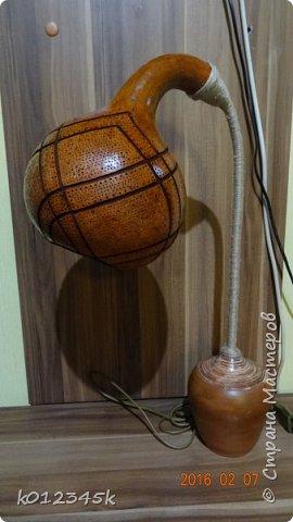 Лампы из бутылочной тыквы. кому интересно больше информации в блоге. фото 27