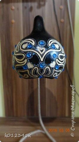 Лампы из бутылочной тыквы. кому интересно больше информации в блоге. фото 1