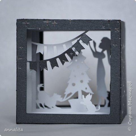 """Здравствуйте всем! У меня радость - в издательстве """"Феникс"""" вышла моя книга по созданию открыток и кубов в технике бумажного туннеля. Это первая представленная там работа. фото 4"""