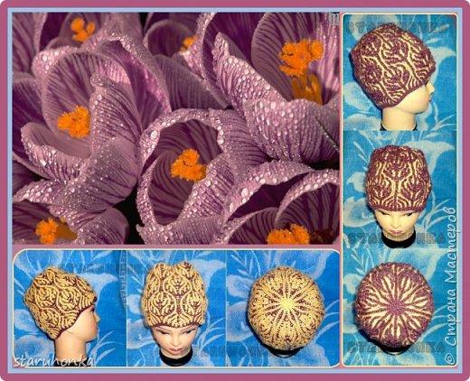 Связала к весне шапочку в полюбившейся технике Бриош (Brioche Stitch)  Шапочка двусторонняя Пряжа Alize Lanagold? 50% шерсть-50% акрил, 240 м:100гр. Спицы любимый 3,5 мм размер.