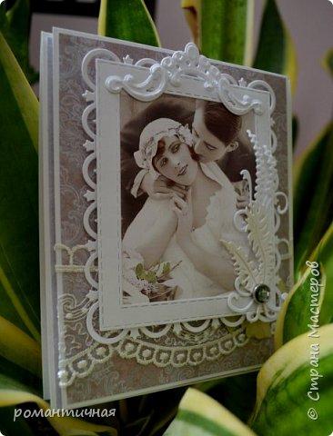 а я снова с открыткой))) весна, наверное, навевает романтику, поэтому и работы получаются в таком стиле))) романтическом... фото 2