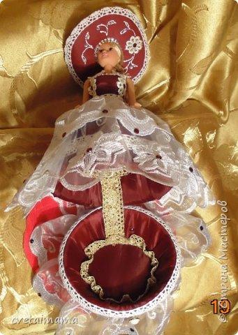 Кукла сделана на день рождения племянницы . Ребенок был в восторге. фото 2