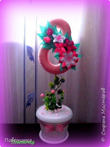 Доброго всем денечка ! Вот и я выставляю свои восьмерки , которые делала по МК Мокси Оксаны .http://stranamasterov.ru/node/733385?c=favorite фото 5
