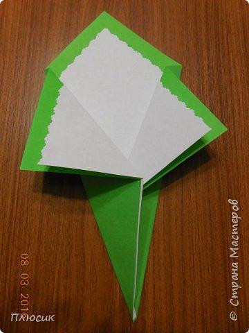 Вот такие букетики мы делали с сыном для поздравления его одноклассниц. фото 4