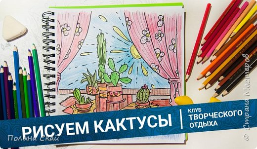 МК. Рисуем кактусы