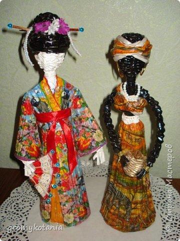 вот захотелось сделать еще одну японскую девушку,но немножко по-другому. фото 5