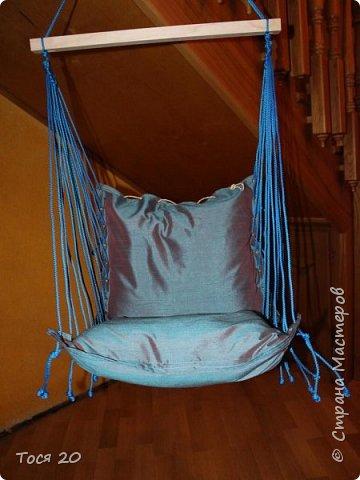 Решили с подругой сшить её крестнику подвесные кресло на день рождение. И вот что получилось)))  фото 2