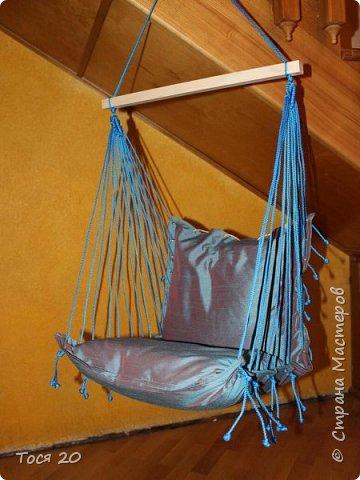 Решили с подругой сшить её крестнику подвесные кресло на день рождение. И вот что получилось)))  фото 1