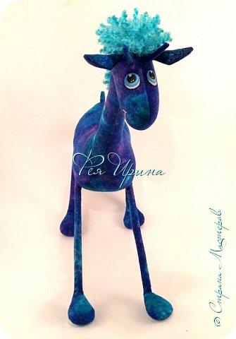 Давненько меня не было :))) Я трудилась непрерывно , покажу  всё что натворила  за  это время , начну с жирафов и лошадок :) фото 20