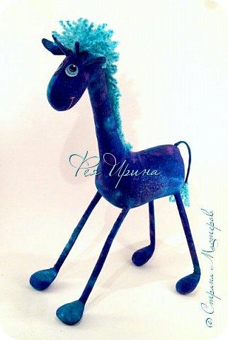 Давненько меня не было :))) Я трудилась непрерывно , покажу  всё что натворила  за  это время , начну с жирафов и лошадок :) фото 22