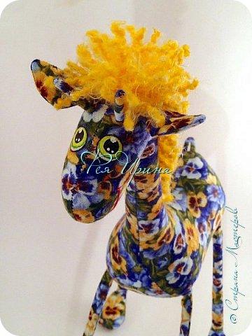 Давненько меня не было :))) Я трудилась непрерывно , покажу  всё что натворила  за  это время , начну с жирафов и лошадок :) фото 9