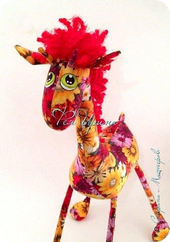 Давненько меня не было :))) Я трудилась непрерывно , покажу  всё что натворила  за  это время , начну с жирафов и лошадок :) фото 18
