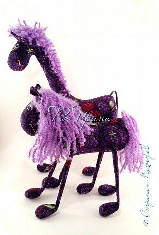Давненько меня не было :))) Я трудилась непрерывно , покажу  всё что натворила  за  это время , начну с жирафов и лошадок :) фото 30