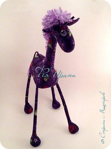 Давненько меня не было :))) Я трудилась непрерывно , покажу  всё что натворила  за  это время , начну с жирафов и лошадок :) фото 23