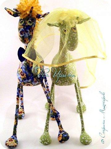 Давненько меня не было :))) Я трудилась непрерывно , покажу  всё что натворила  за  это время , начну с жирафов и лошадок :) фото 14