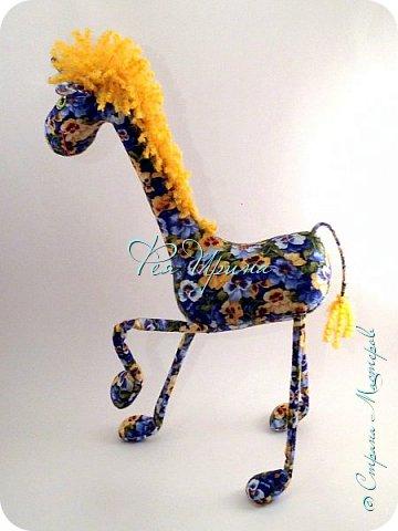 Давненько меня не было :))) Я трудилась непрерывно , покажу  всё что натворила  за  это время , начну с жирафов и лошадок :) фото 10