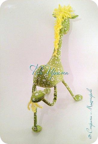 Давненько меня не было :))) Я трудилась непрерывно , покажу  всё что натворила  за  это время , начну с жирафов и лошадок :) фото 13