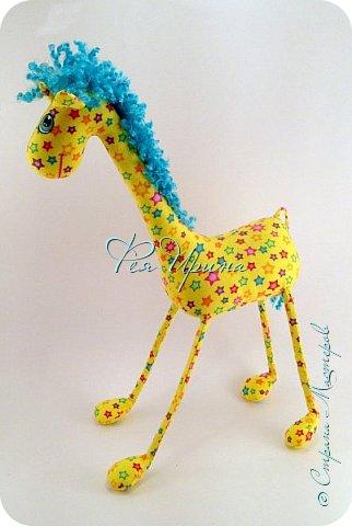 Давненько меня не было :))) Я трудилась непрерывно , покажу  всё что натворила  за  это время , начну с жирафов и лошадок :) фото 2