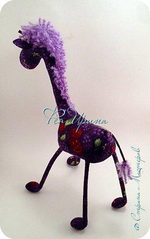 Давненько меня не было :))) Я трудилась непрерывно , покажу  всё что натворила  за  это время , начну с жирафов и лошадок :) фото 25