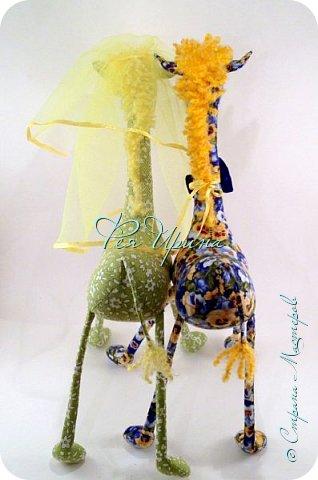 Давненько меня не было :))) Я трудилась непрерывно , покажу  всё что натворила  за  это время , начну с жирафов и лошадок :) фото 16