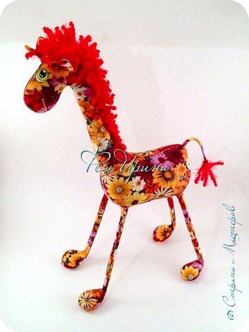 Давненько меня не было :))) Я трудилась непрерывно , покажу  всё что натворила  за  это время , начну с жирафов и лошадок :) фото 17