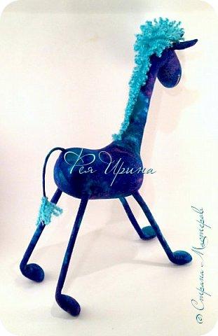 Давненько меня не было :))) Я трудилась непрерывно , покажу  всё что натворила  за  это время , начну с жирафов и лошадок :) фото 21