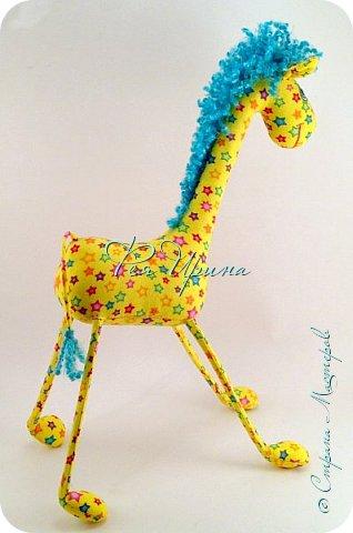 Давненько меня не было :))) Я трудилась непрерывно , покажу  всё что натворила  за  это время , начну с жирафов и лошадок :) фото 3