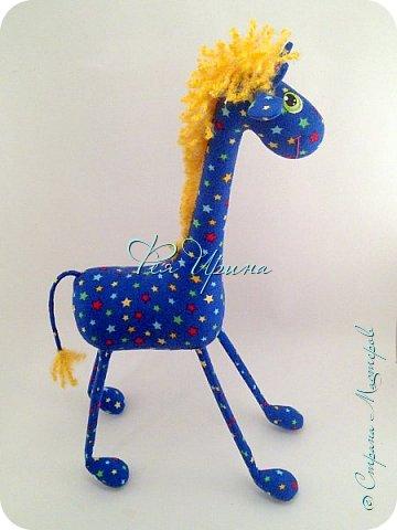 Давненько меня не было :))) Я трудилась непрерывно , покажу  всё что натворила  за  это время , начну с жирафов и лошадок :) фото 5