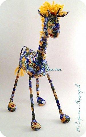 Давненько меня не было :))) Я трудилась непрерывно , покажу  всё что натворила  за  это время , начну с жирафов и лошадок :) фото 8