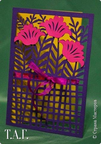 Традиционно к женскому празднику Руслан приготовил открытки. фото 20