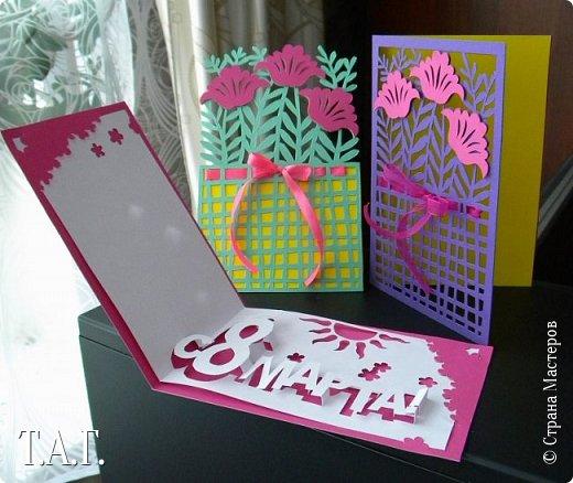 Традиционно к женскому празднику Руслан приготовил открытки. фото 1