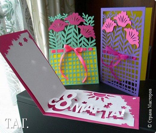 Традиционно к женскому празднику Руслан приготовил открытки. фото 24