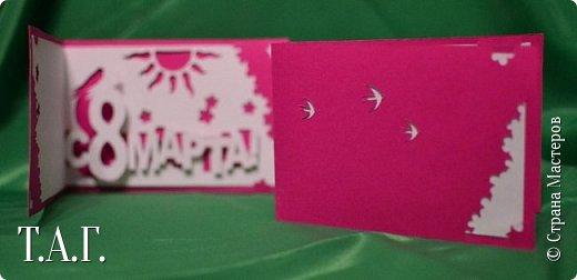 Традиционно к женскому празднику Руслан приготовил открытки. фото 7