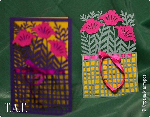 Традиционно к женскому празднику Руслан приготовил открытки. фото 9