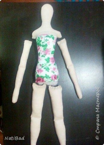 Небольшой мастер-класс по шитью куклы. фото 5