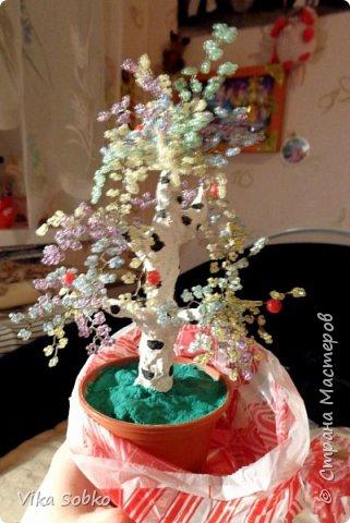 Деревья из бисера фото 11