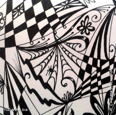 """И снова тянет меня рисовать, никак не могу остановиться ;))) Итак. """"Бабочки"""". Сколько бабочек Вы видите? фото 5"""