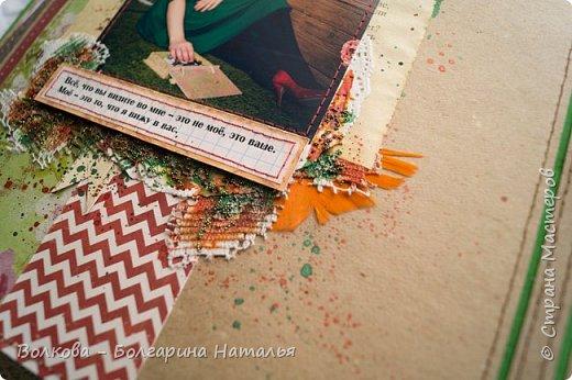"""Свершилось """"страшное"""" - альбом по совместному проекту с Дашей Пнёвой, который нужно было ещё в прошлом году сделать, я таки доделала:)))) фото 27"""
